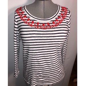 Talbots Stripe Shirt